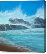 Wave Fury Canvas Print