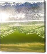 Wave Glass  Canvas Print