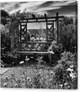 Wave Hill Garden Canvas Print