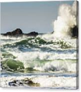 Wave Impact Canvas Print