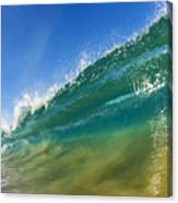 Wave - Makena Beach Canvas Print