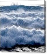 Wave Upon Wave Upon Wave Canvas Print