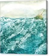 wave V Canvas Print