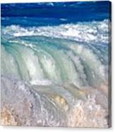 Wave Waterfall, Sunset Beach, Hawai'i Canvas Print