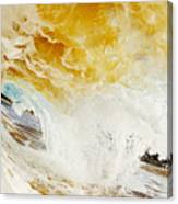 Wave Whitewash Canvas Print
