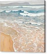 Waveline Canvas Print