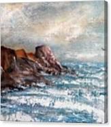 Waves 1 Canvas Print