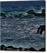 Waves And Wind Canvas Print