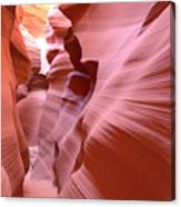 Waves Of Colorful Sandstone Canvas Print