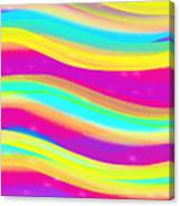 Waves Of Wishes Canvas Print