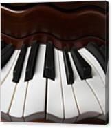 Wavey Piano Keys Canvas Print