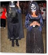 Waving Ghoul Cinematographer Halloween Casa Grande Arizona 2004 Canvas Print