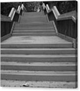 Wavy Stairs Canvas Print