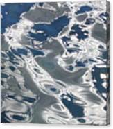 wavy Water  Canvas Print