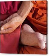 Wax Monk Canvas Print
