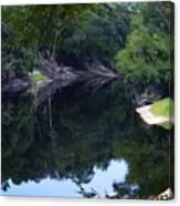 Way Down Upon The Suwannee River Fisheye Canvas Print