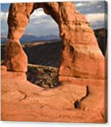 Way Of Delicate Arch  Canvas Print
