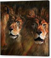 Way Of The Lion Canvas Print