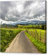 Way To Orio, Spain Canvas Print