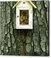 Wayside Shrine Canvas Print