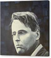 W.b. Yeats Canvas Print