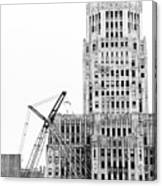 We Built This City Canvas Print