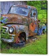 Wears Valley 1954 Gmc Wears Valley Tennessee Art Canvas Print