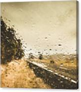 Weather Roads Canvas Print