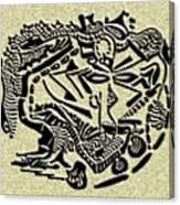 Weathered Bedu  Canvas Print