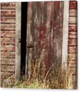 Weathered Entrance Canvas Print