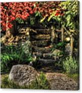 Weathered Stairway Canvas Print