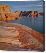 Weathering Pit Ridge Sunset Canvas Print
