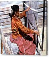 Weaver's Tale Canvas Print