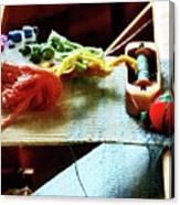 Weaving Supplies Canvas Print