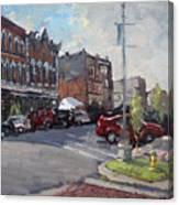 Webster Street North Tonawanda Canvas Print
