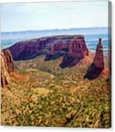 Wedding Canyon Canvas Print