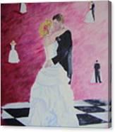 Wedding Dance Canvas Print