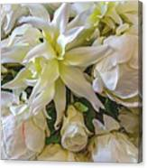 Wedding Day Bouquet Canvas Print