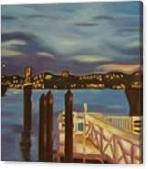 Weehawken From Pier 78 Canvas Print