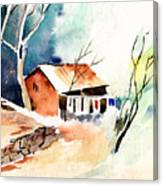 Weekend House Canvas Print