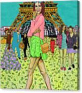 Weekend In Paris Canvas Print