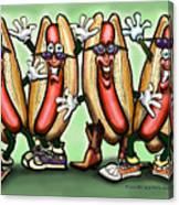 Weiner Party Canvas Print