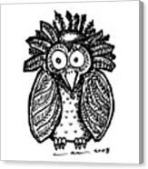 Weird O Bird Canvas Print