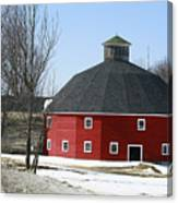 Welch Round Barn Canvas Print