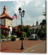 Welcome Center At Frankenmuth Canvas Print