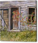 Welcome Inn Canvas Print