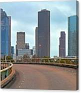 Welcome To Houston Canvas Print