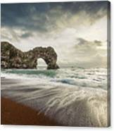 Welcome To Open Water Canvas Print