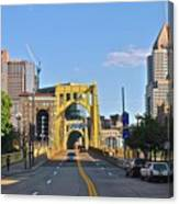 Welcome To Pittsburgh Pa Canvas Print