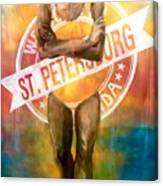 Welcome To St. Petersburg Canvas Print
